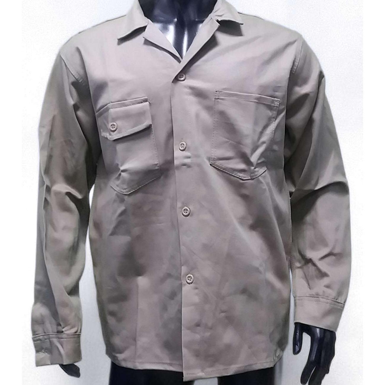 Camisa Drill Caqui