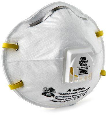 Respirador desechable para partículas 8210V 3M